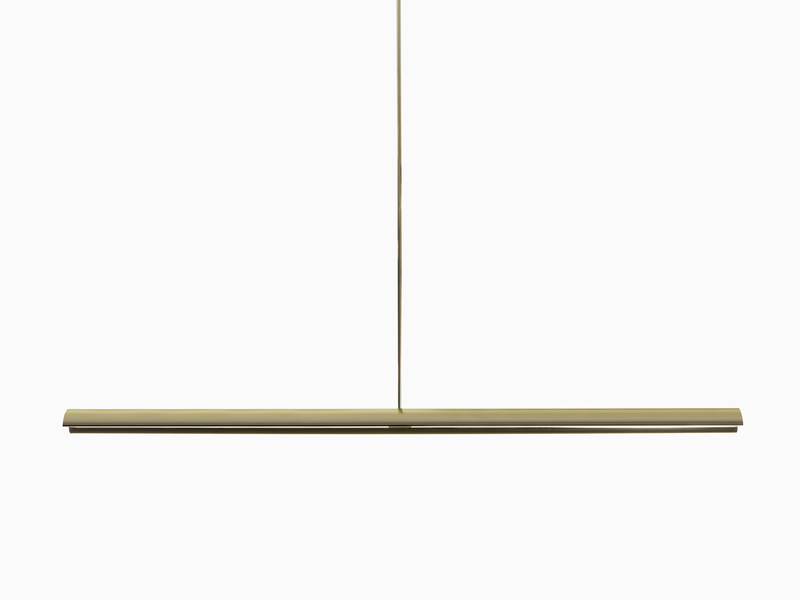 Lighting Eclipse Pendant - Polished Un-lacquered Brass