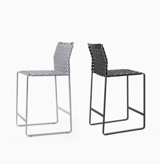 Stool Counter Stools - High Woven Back