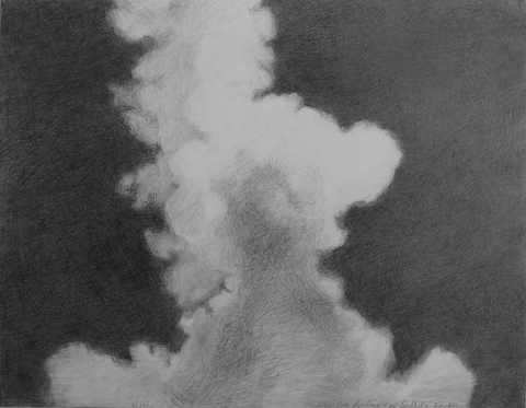 Marsha Goldberg &quot;Smoke Rises...&quot;: Drawings 2011-2012 graphite