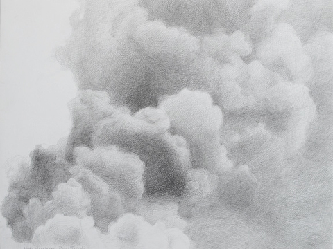 "Marsha Goldberg ""Smoke Rises..."": Drawings 2011-2012 graphite"