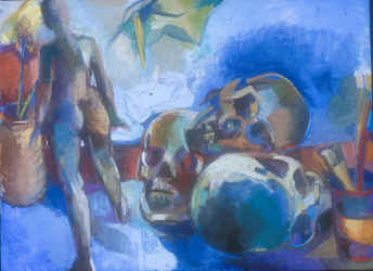 Martha Hayden Vanitas oil on linen