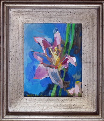Martha Hayden Holiday Gifts oil on canvas