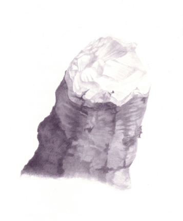  Stumps India ink, gesso on board