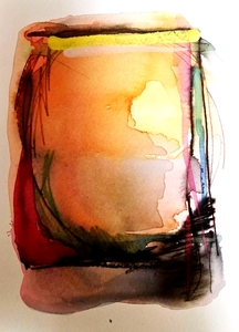 Melinda Zox  Works on paper 2012-2018 Watercolor, Ink,  on Cold Press Paper