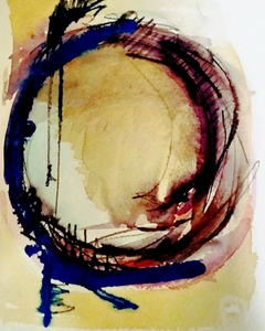 Melinda Zox  Works on paper 2012-2018 Watercolor, Gouache on Cold Press Paper