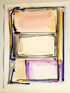 Melinda Zox  Works on paper 2012-2018 Mixed media on paper