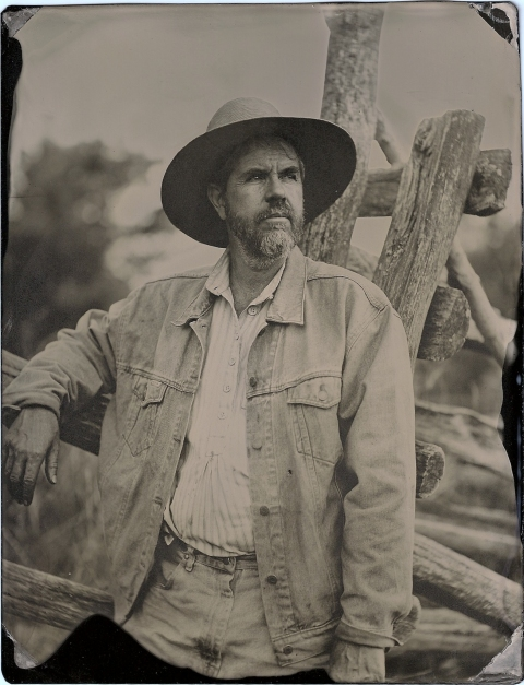 Melissa Cacciola Work with John Coffer Tintype