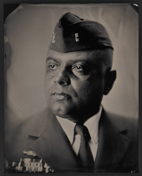 Melissa Cacciola War and Peace Tintype