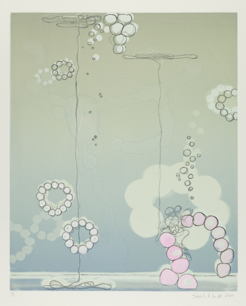 Sarah Lutz Sarah Lutz: Cenote Series No. 9, 2010, Monotype, 18 x 14 inches