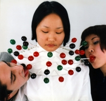 MiYoung Sohn Archive C-print (lollipops, plaster bandage, plasti-coat)