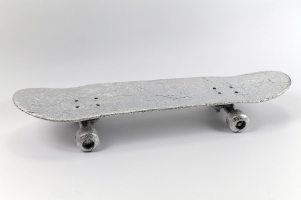 MiYoung Sohn Metal aluminum foil, skateboard hardware