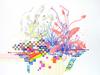 Drawings Gouache, watercolor, colored pencil, pencil