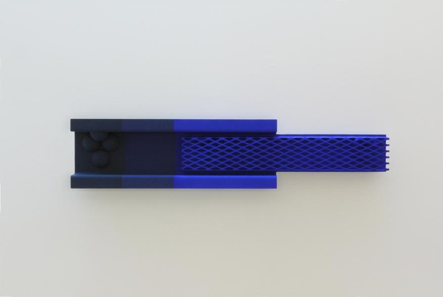 Sculpture  Blue Blue Blue