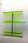 Sculpture  steel,  plexiglas, micaneous iron oxide  & flashe paints