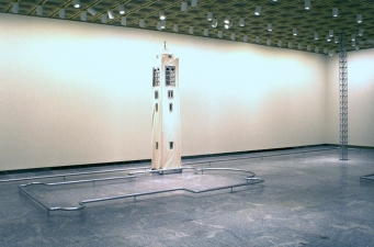 "Paul O'Keeffe ""From Door to Tower\"" Installation  Installation, Cleveland Museum of Art"
