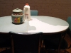 Other  (non-MOCS) Projects vintage dinette set & cookie jar, milk, vaseline, oreos