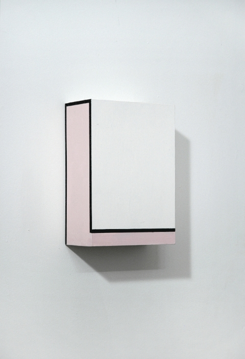 Richard Roth New Paintings Flashe on Birch plyood