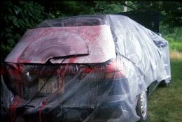 Rosemarie Fiore  Subaru Legacy, transmission fluid, paper