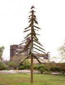 Rosemarie Fiore  5,500 Royal Pine car freshners, rebar, telephone poles