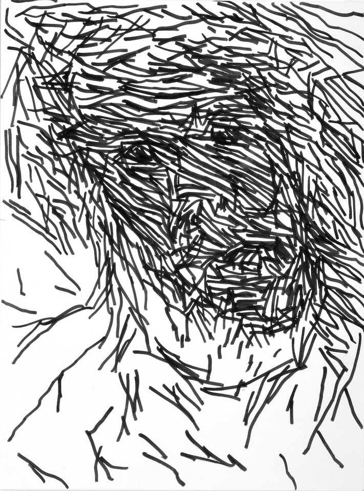 """The Forgotten Children"" (series) Marker Drawings  ""The Forgotten Children"" (series) Marker Drawings marker on paper"