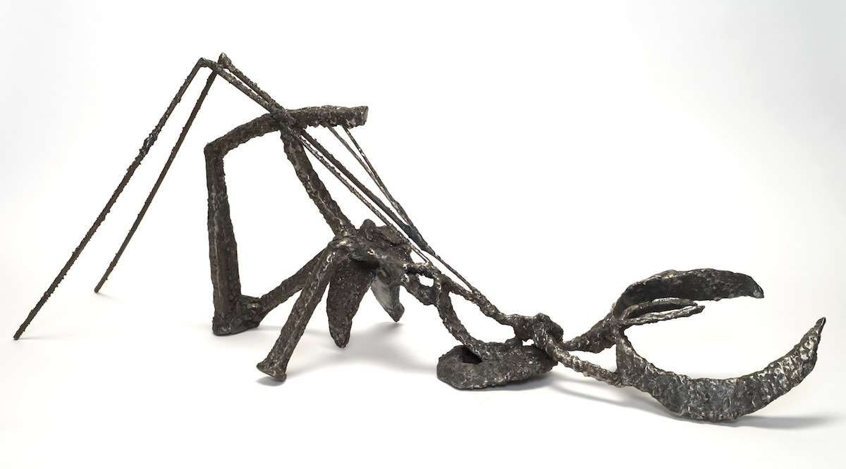 Small Sculptures (series) welded steel