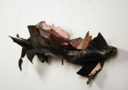 Sara Hubbs 2009 my boot, adhesive, hardware