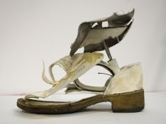 Sara Hubbs 2009 shoes, wire, thread, and adhesive