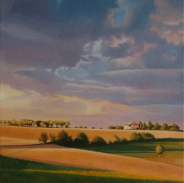 SHARON COSGROVE LANDSCAPE oil on canvas