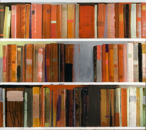 Stanford Kay Gutenberg Variations 2003-05 Acrylic on canvas