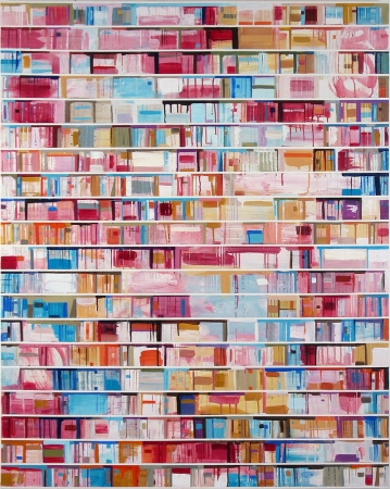 Stanford Kay Gutenberg Variations 2006-08 Acrylic on canvas