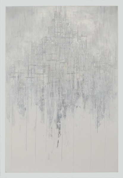 Steven Bindernagel Works on paper Mixed media on paper