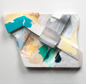Tamara Zahaykevich Qi Polystyrene, Paper, Paint