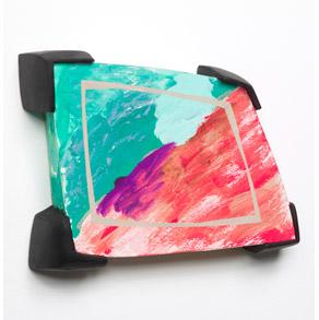 Tamara Zahaykevich Qi Polystryrene, Foam Board, Paint