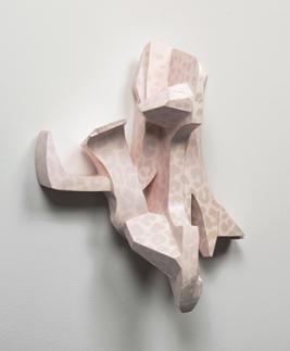 Tamara Zahaykevich Bonz polystyrene, paper, paint