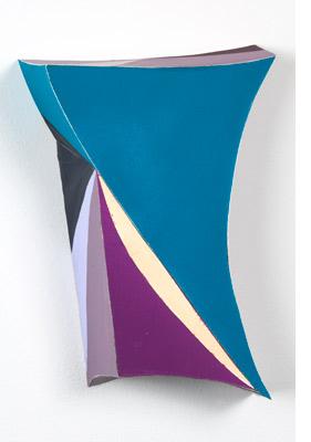 Tamara Zahaykevich Heart foam board, polystyrene, acrylic paint