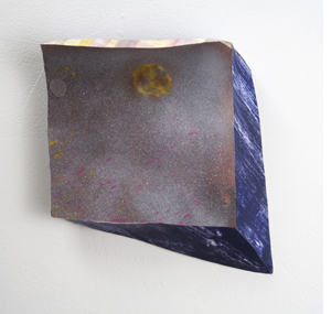 Tamara Zahaykevich Qi Paper, foam board, paint, glue