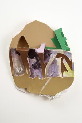 Tamara Zahaykevich Qi Styrofoam, foam board, paper, paint