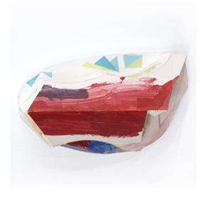 Tamara Zahaykevich Qi Polystyrene, foam board, acrylic paint
