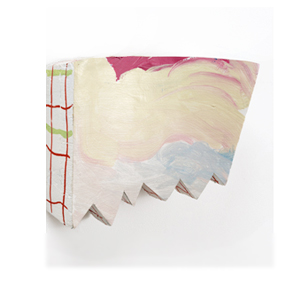 Tamara Zahaykevich Qi Polystyrene, paper, paint, glitter
