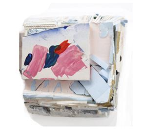Tamara Zahaykevich Qi Foam board, styrofoam, paint
