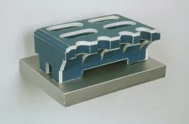 Tamara Zahaykevich Early Foamcore and glue