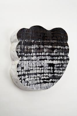 Tamara Zahaykevich Heart Polystyrene, foam board, acrylic paint, paper, wood filler, glue