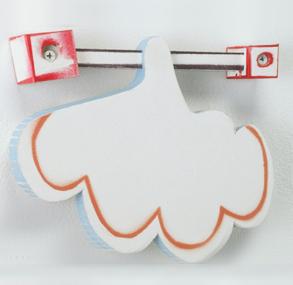 Tamara Zahaykevich Brite Ideas Foam board, screws, spray paint