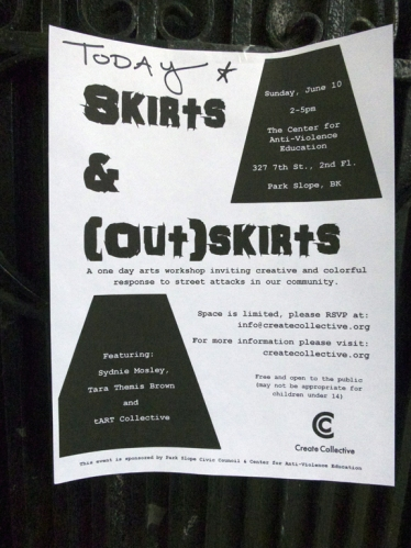 tART Collective 2012: Skirts & (Out) Skirts)