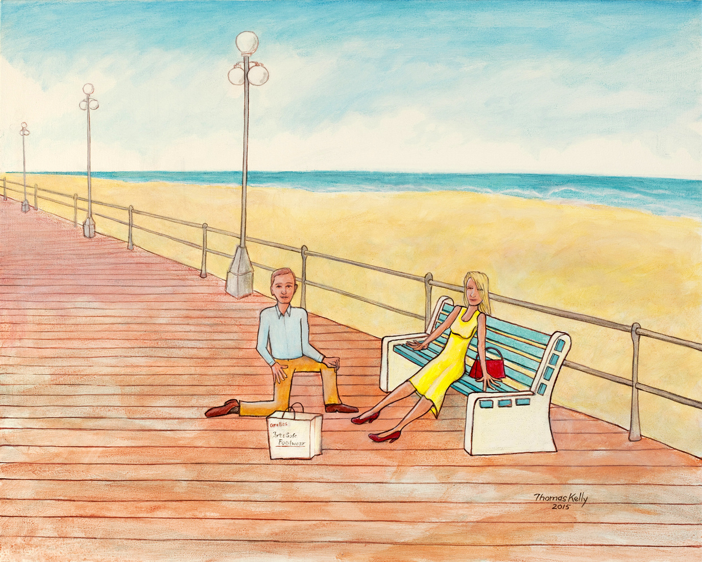 Collected Paintings Avon by the Sea