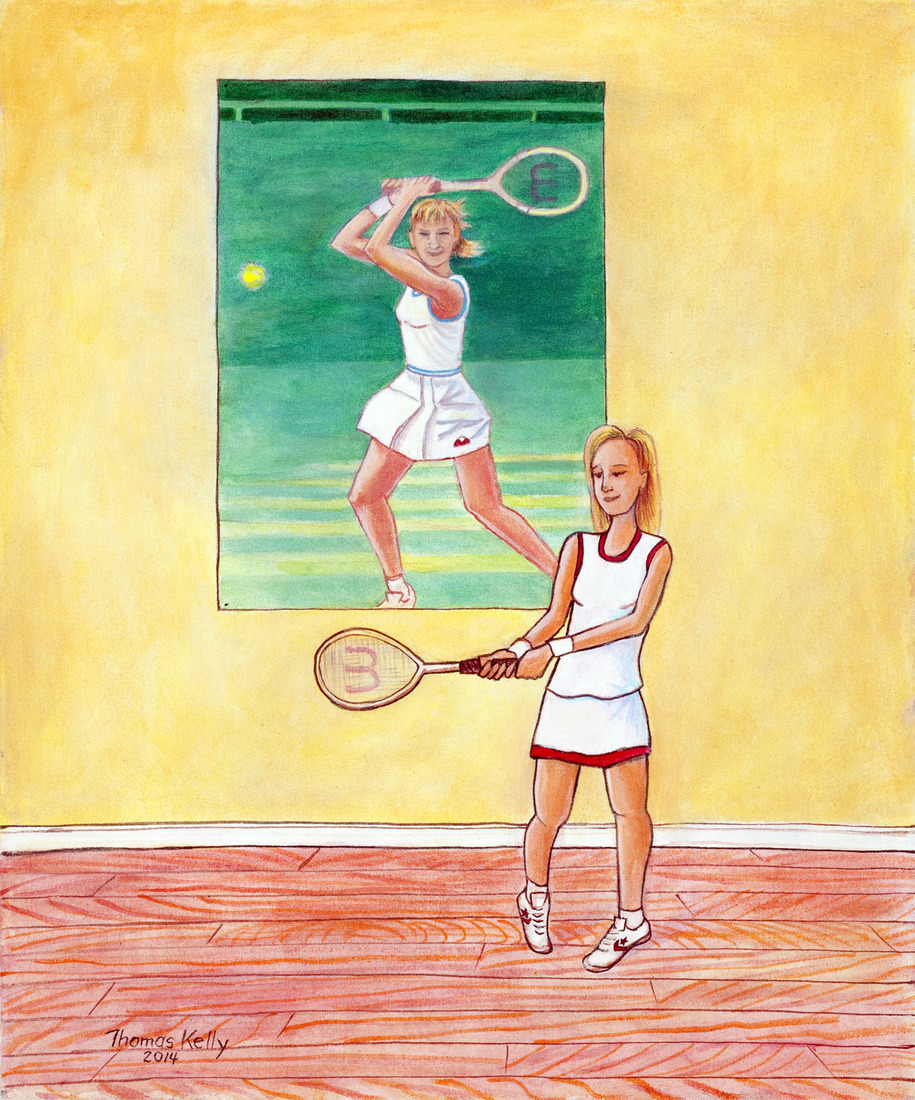 Series: Sports Icons Chris Evert