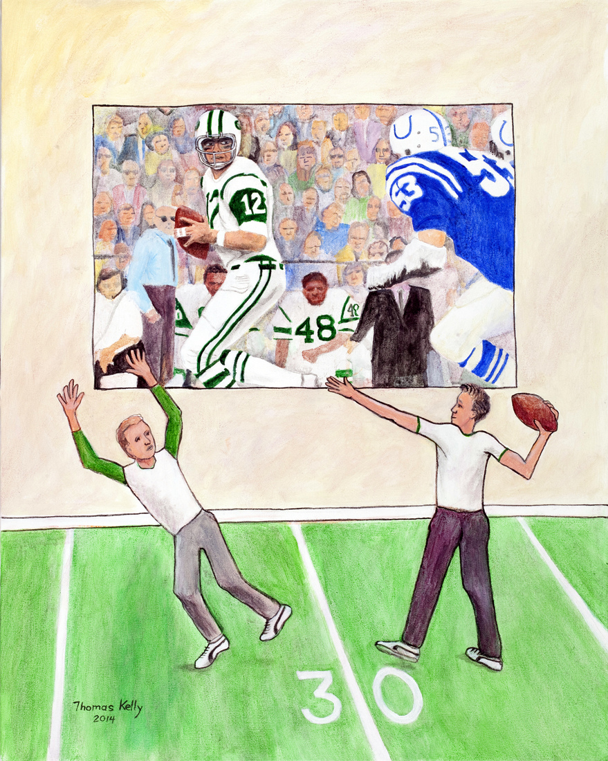 Collected Paintings Joe Namath