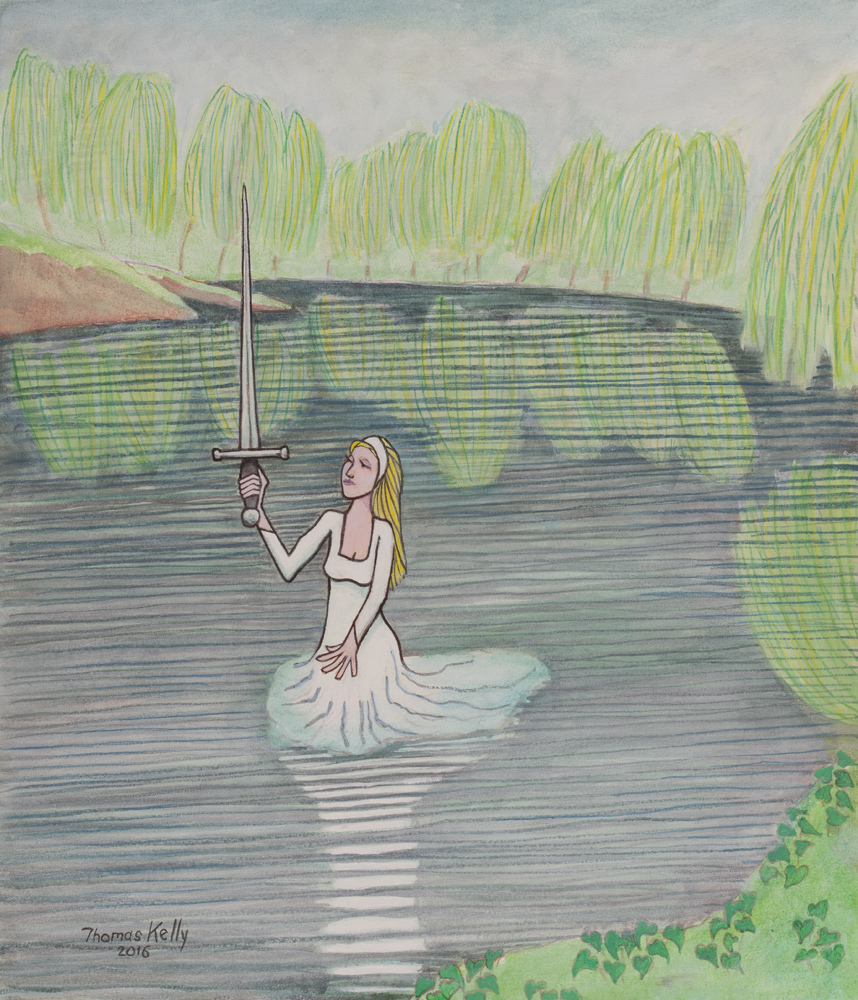 Collected Paintings Lady of the Lake