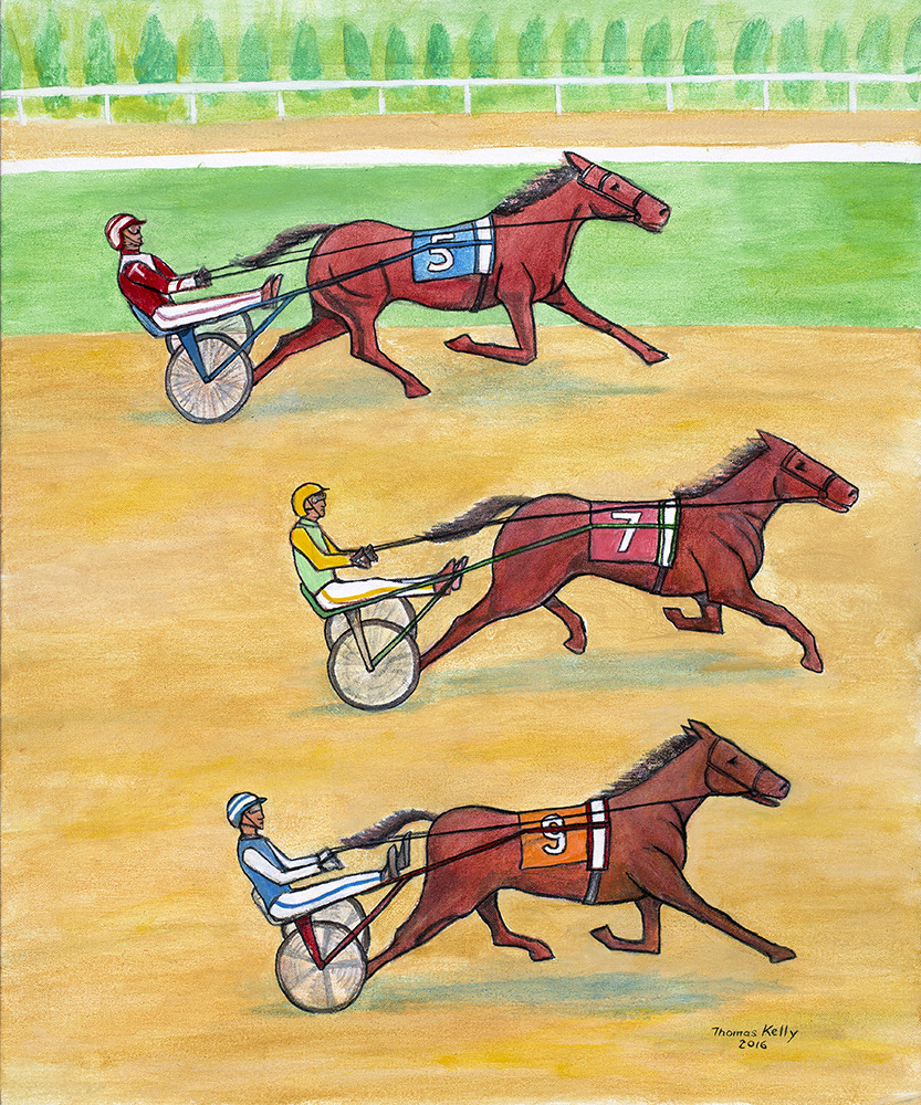Commissioned Paintings Harness Racing