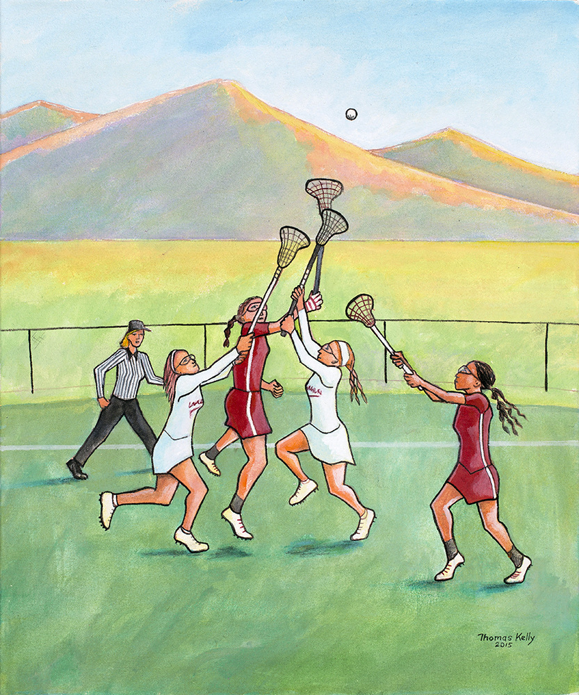 Commissioned Paintings Lacrosse